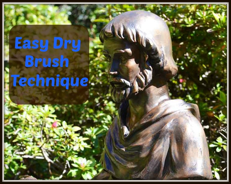 Dry Brush Antique Bronze