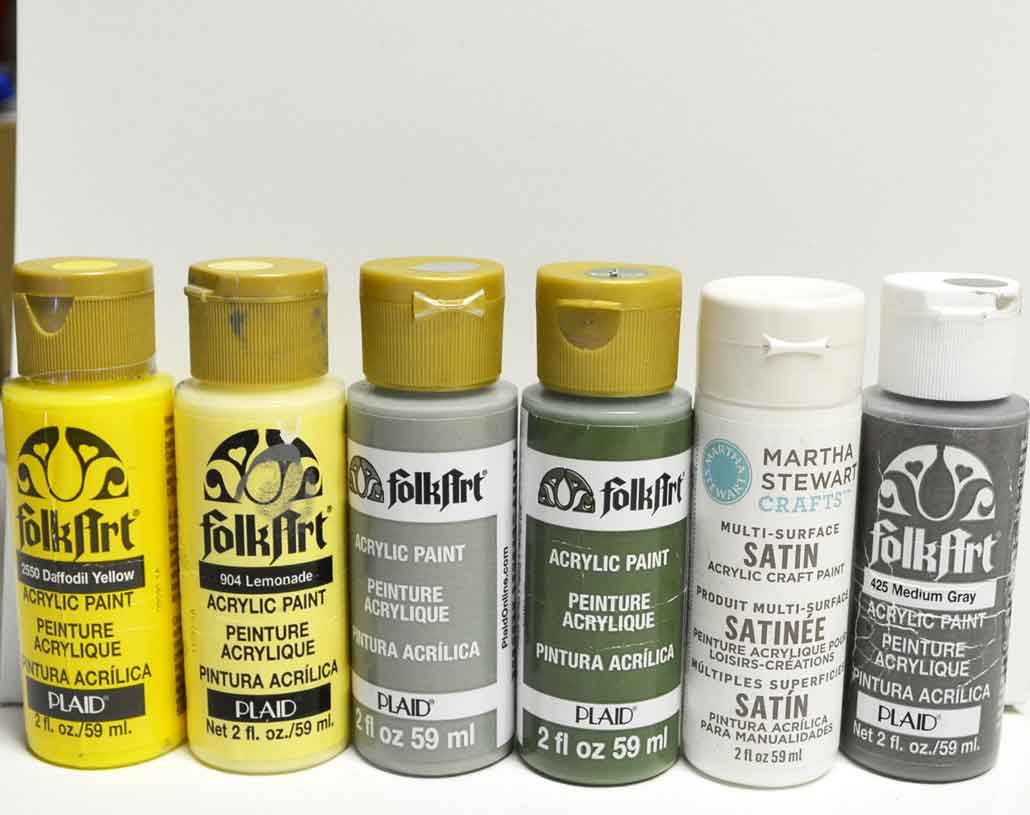 daffodil painting supplies