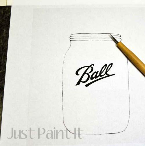 Paint Mason JarL