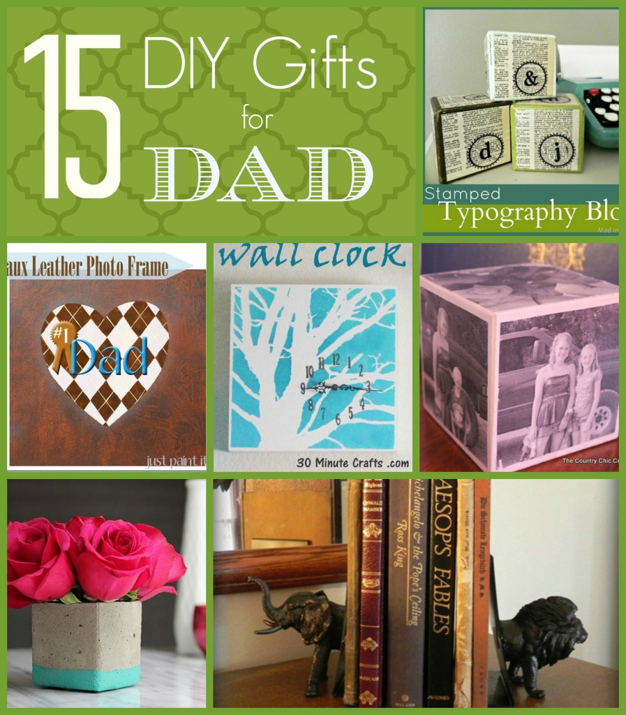 15 DIY Gift Ideas for Dad
