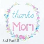 Free Mother's Day Watercolor Clip Art