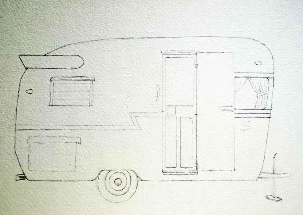 camper-sketch