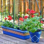 Lines and Dots – Paint Clay Pots