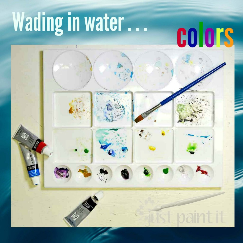 Wading in Water . . . Colors