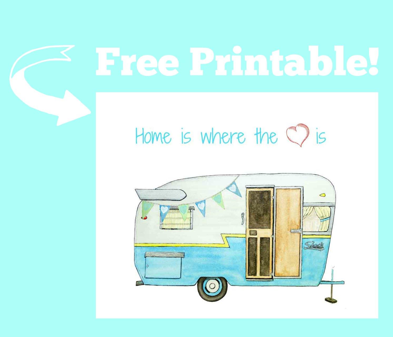 - Vintage Camper Printable - Just Paint It Blog