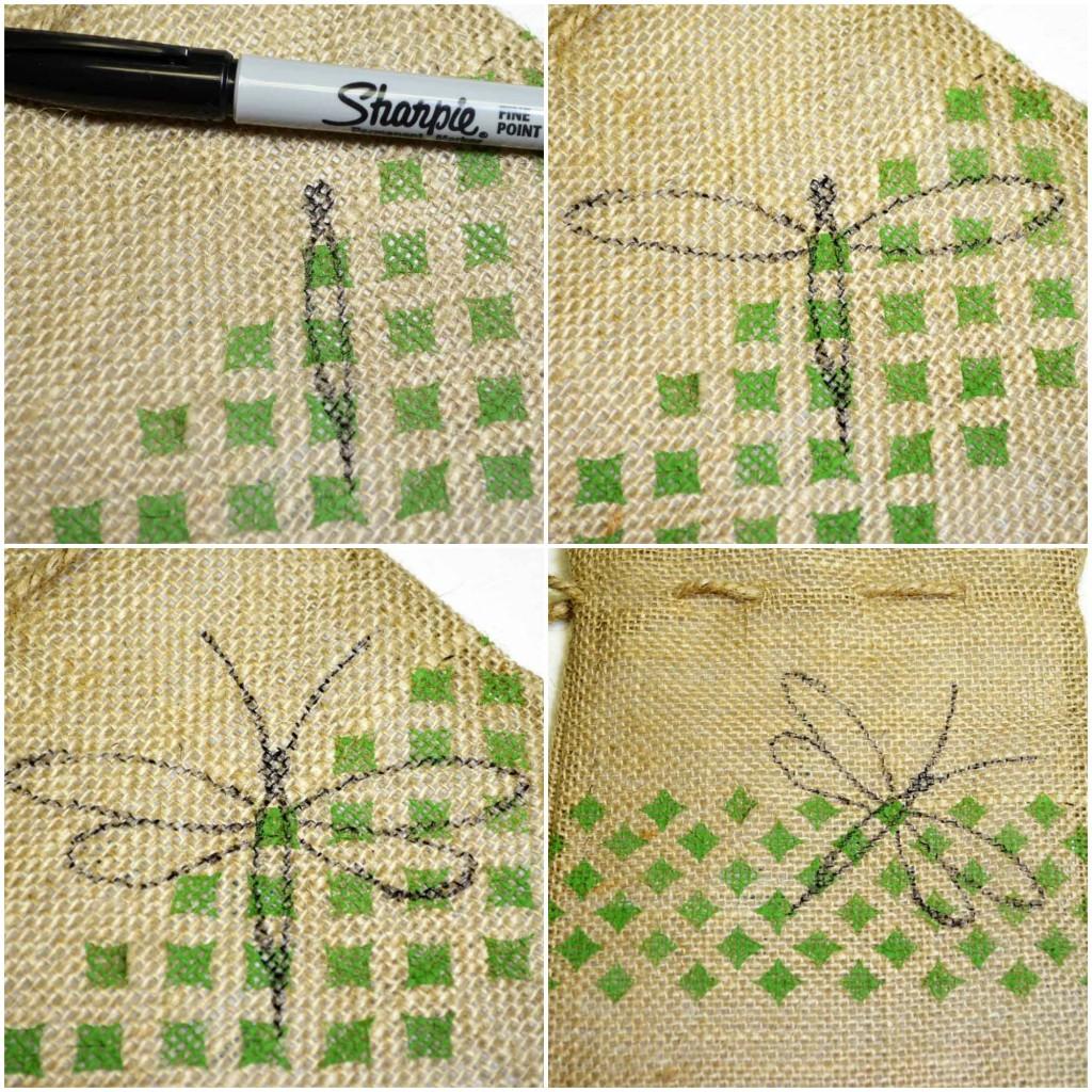 draw dragonfly