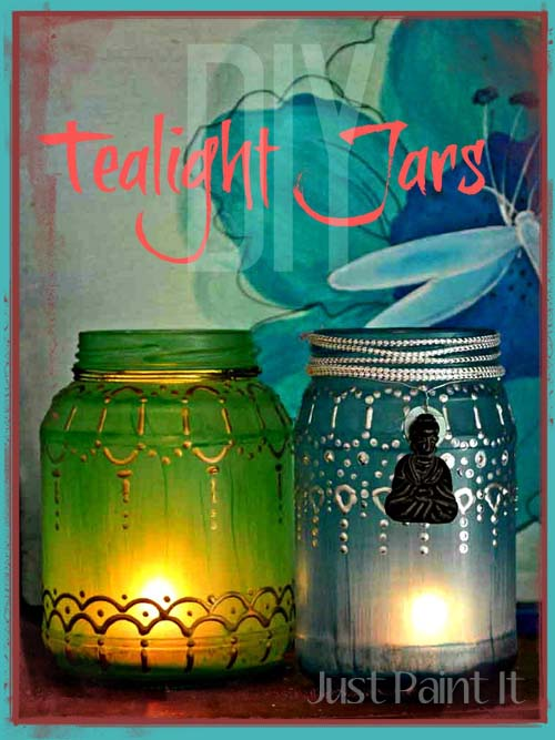 DIY Tealight Jars