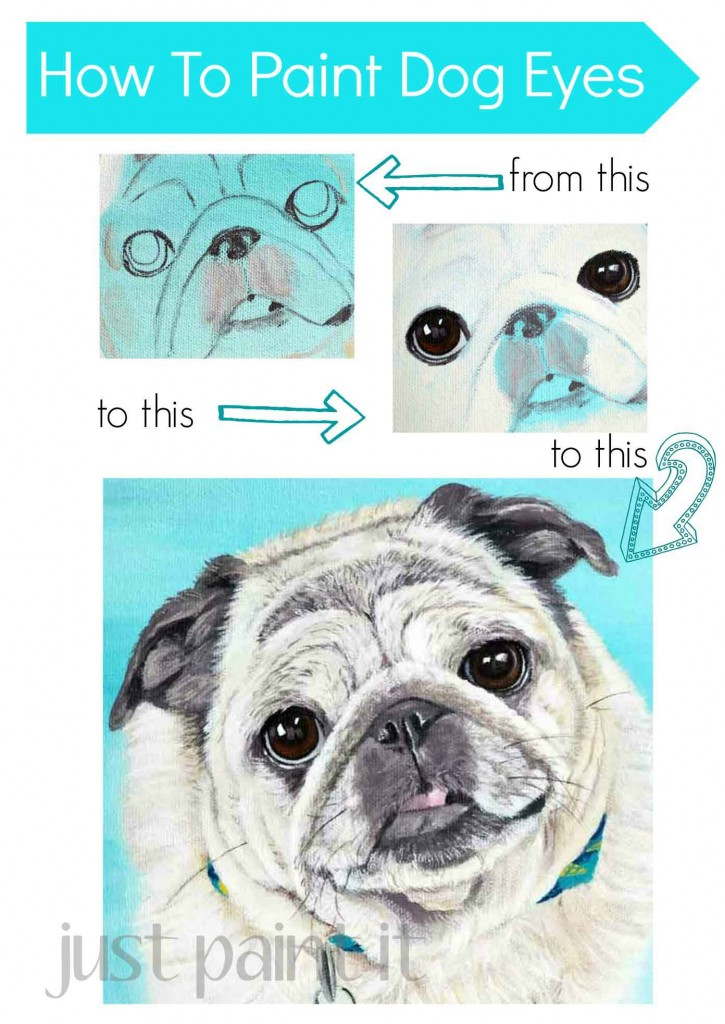How To Paint Dog Eyes