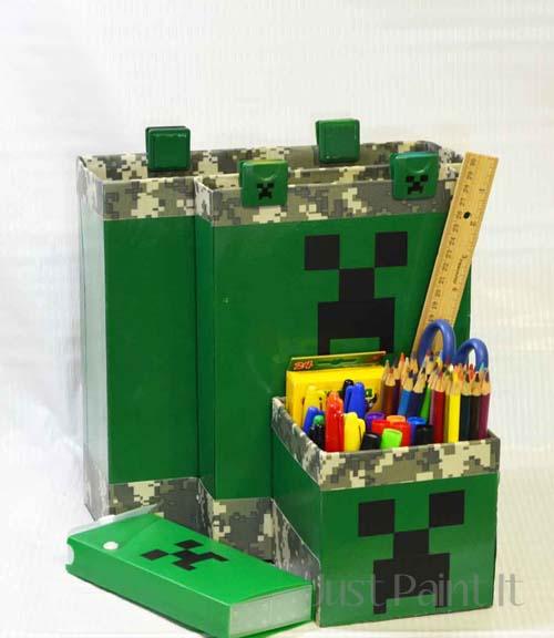 Minecraft organizer