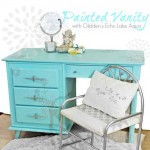 Painted Vanity with Glidden