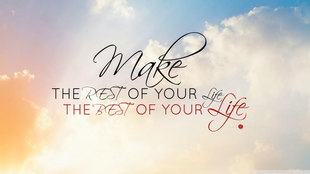 make your life