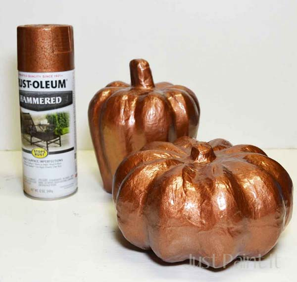 Copper Leaf Pumpkin