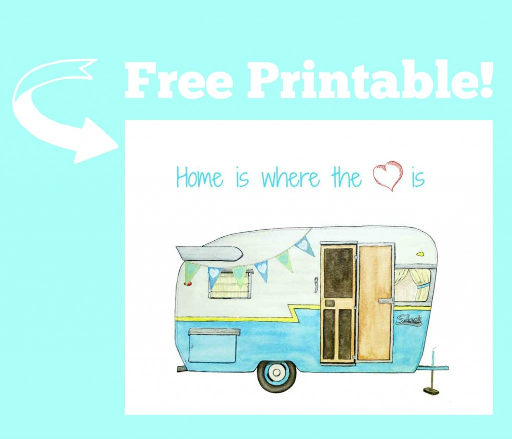 Camper Printable