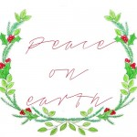 Free Christmas Wreath Watercolor Printable