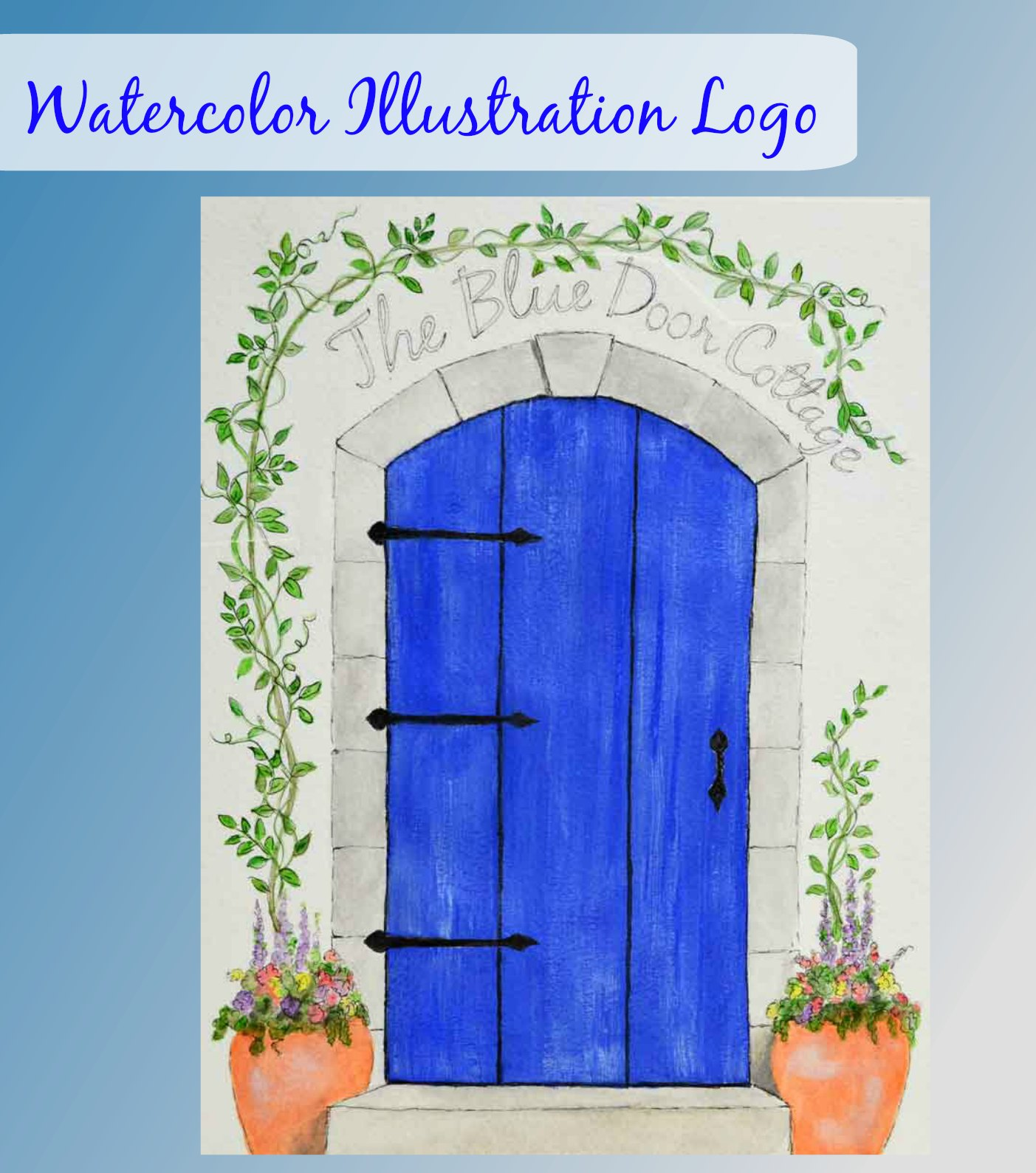 Watercolor Illustration Logo