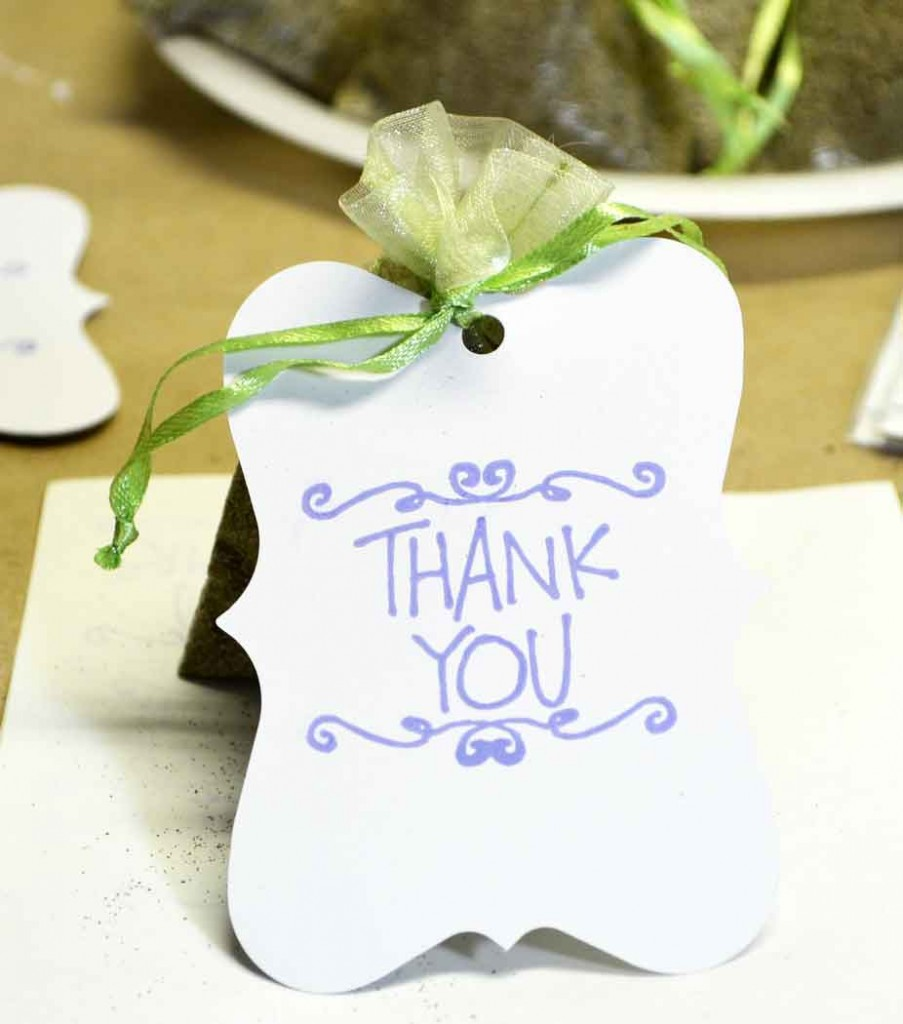 Quick Wildflower Seed Favors - Just Paint It Blog