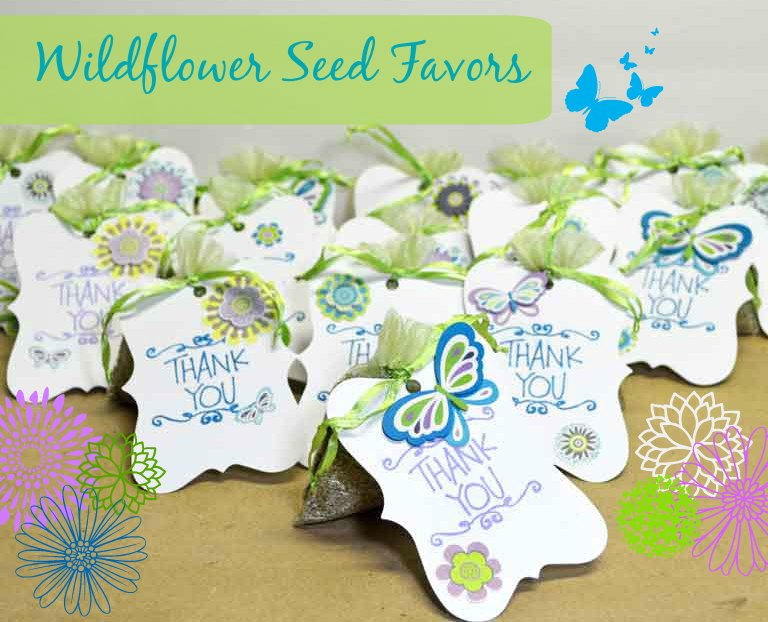 Quick Wildflower Seed Favors