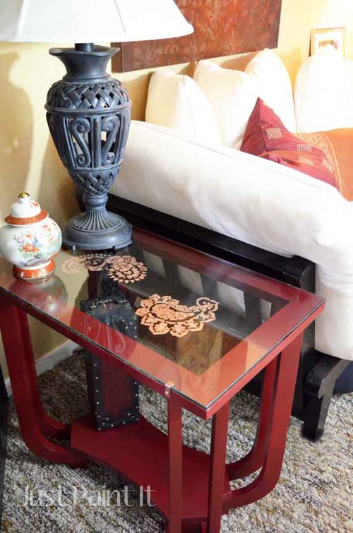 Paisley Table