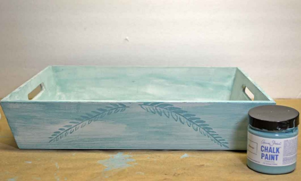 chalkpaint-wash-tray