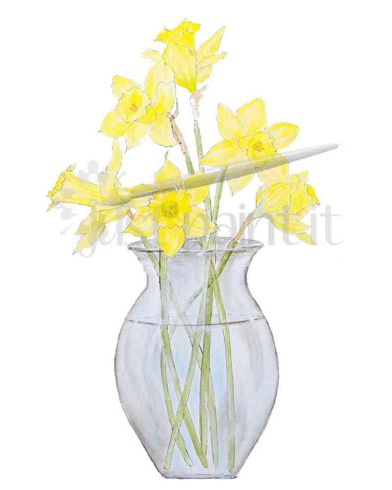 Daffodils-Art-Print