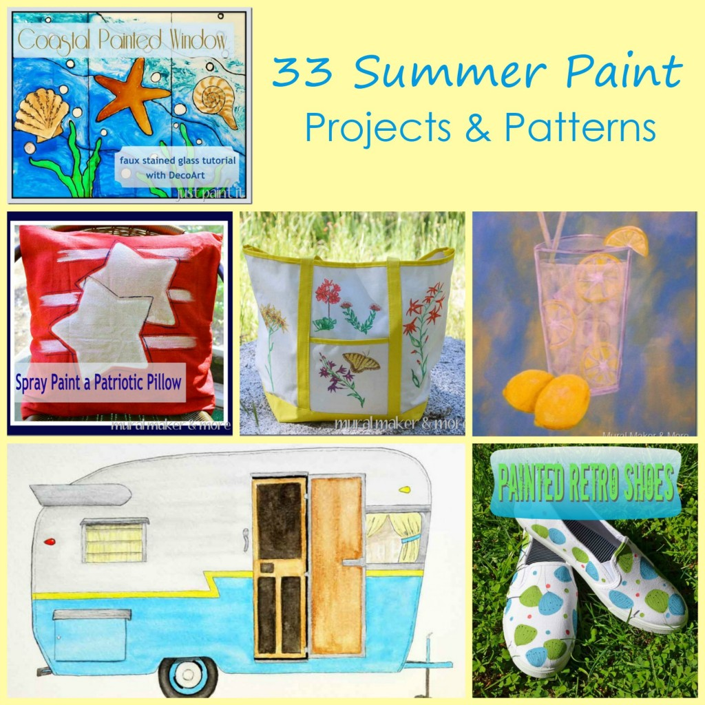 Summer Paint Projects