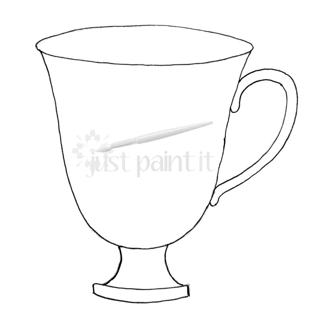 image relating to Teacup Printable referred to as Tea Occasion Printables