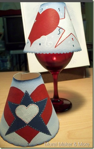 Patriotic Tea Light