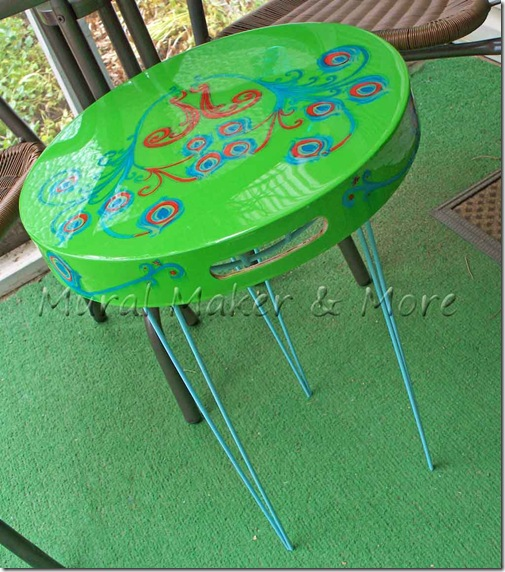 Outdoor Peacock Table