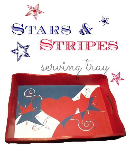 Paint a Patriotic-Tray