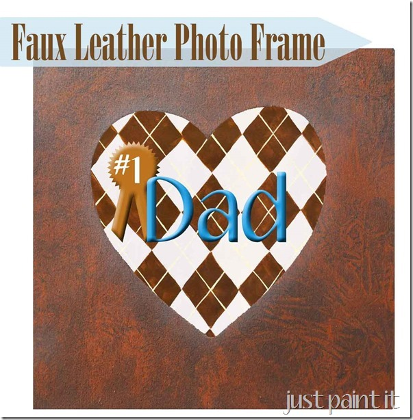 how to paint faux leather
