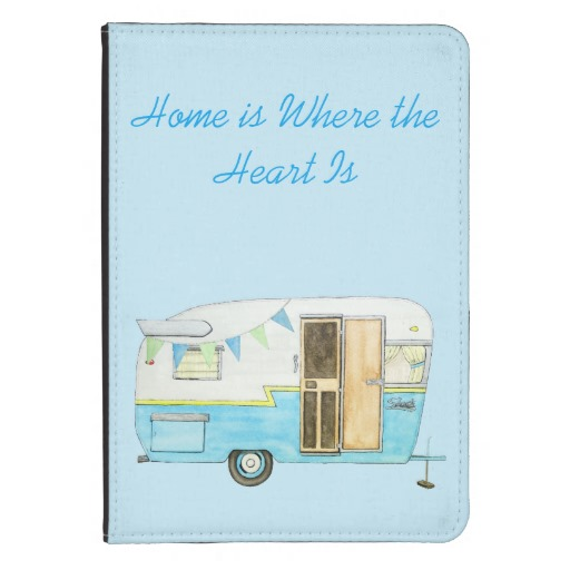Vintage Camper Trailer Kindle Case