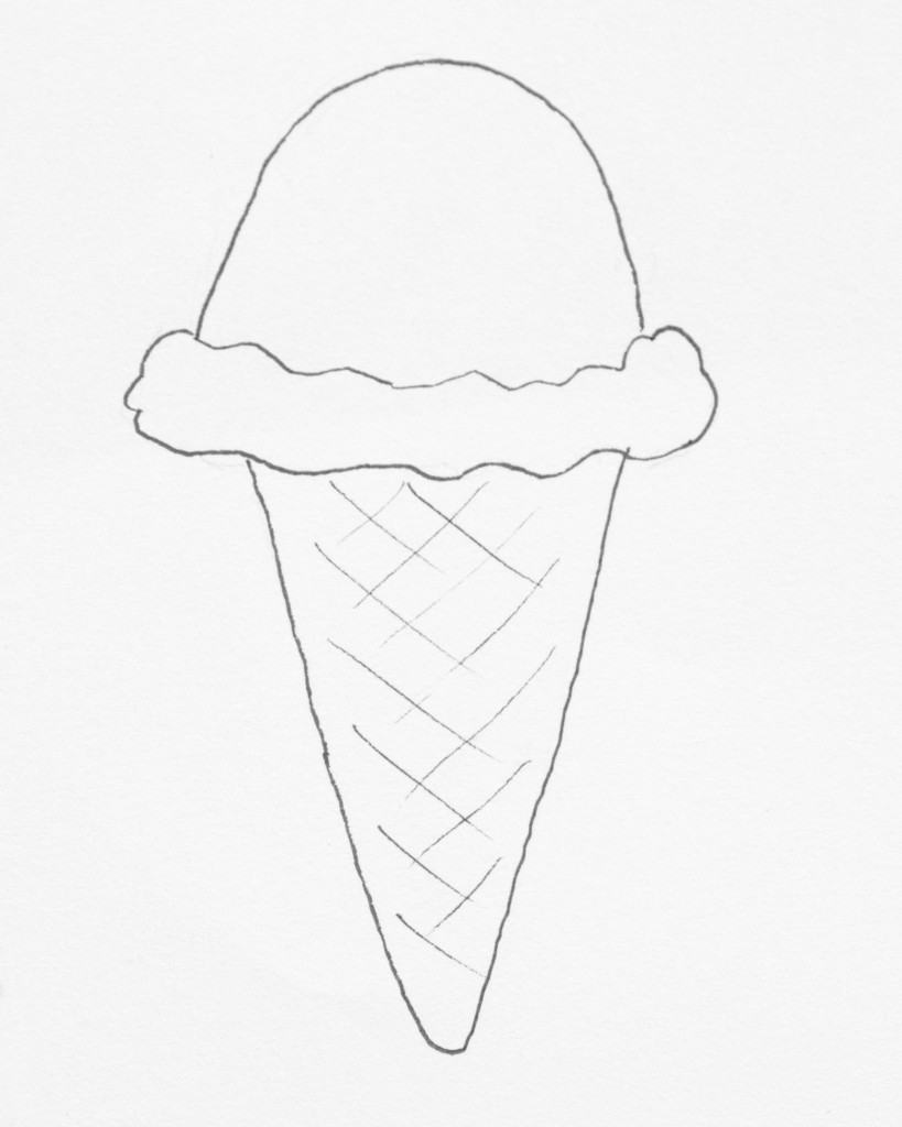 Freebie Friday Ice Cream Coloring