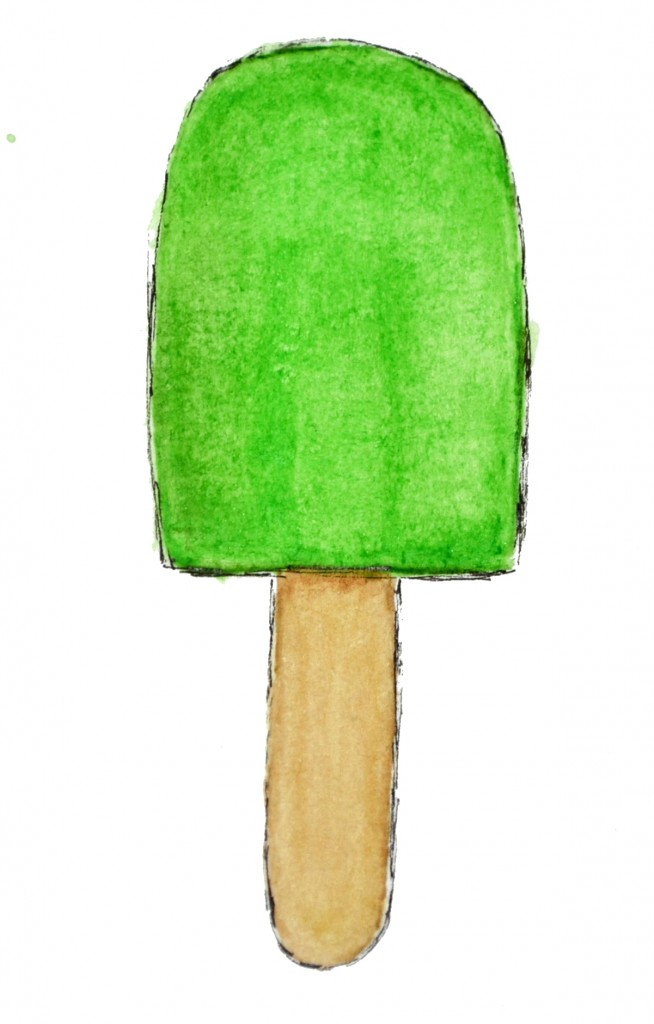 popsicle watercolor