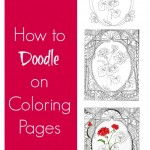 How to Add Doodles to Coloring Pages