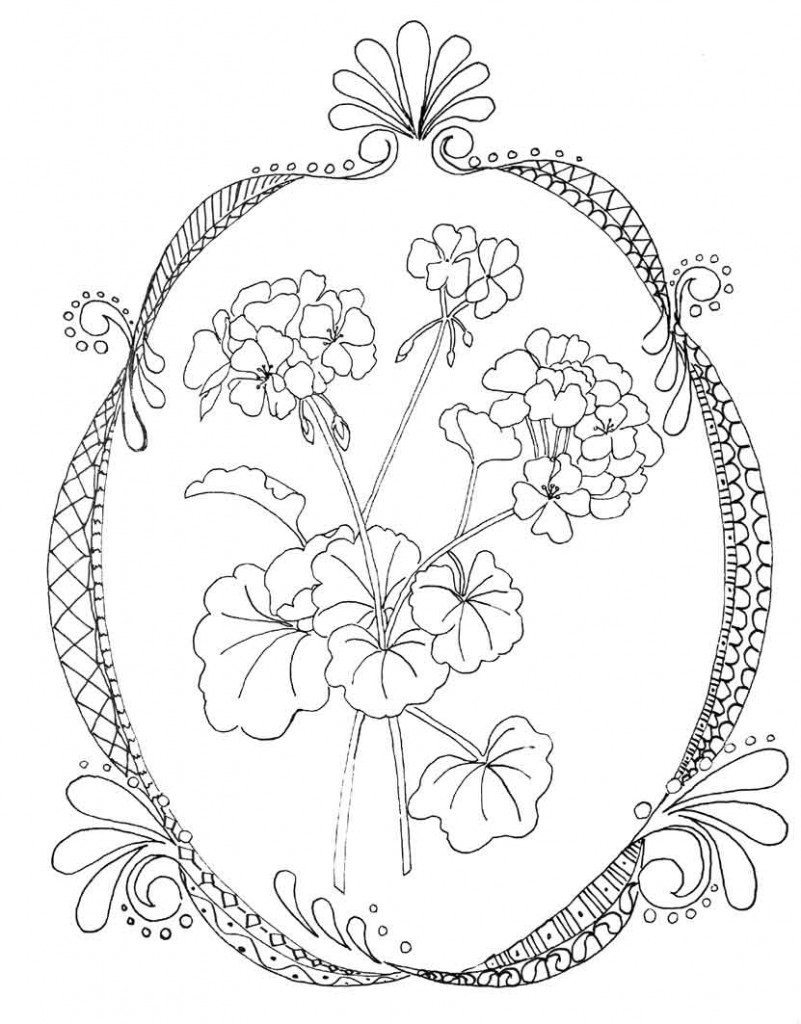 doodle coloring pages