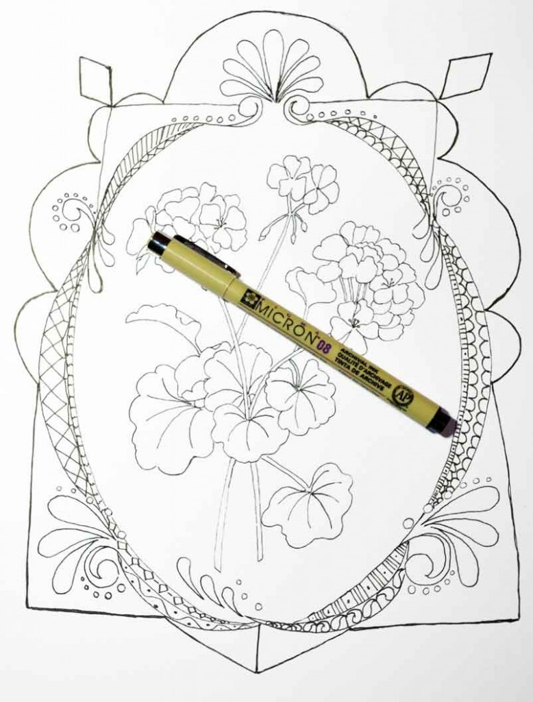 doodle-coloring-pages