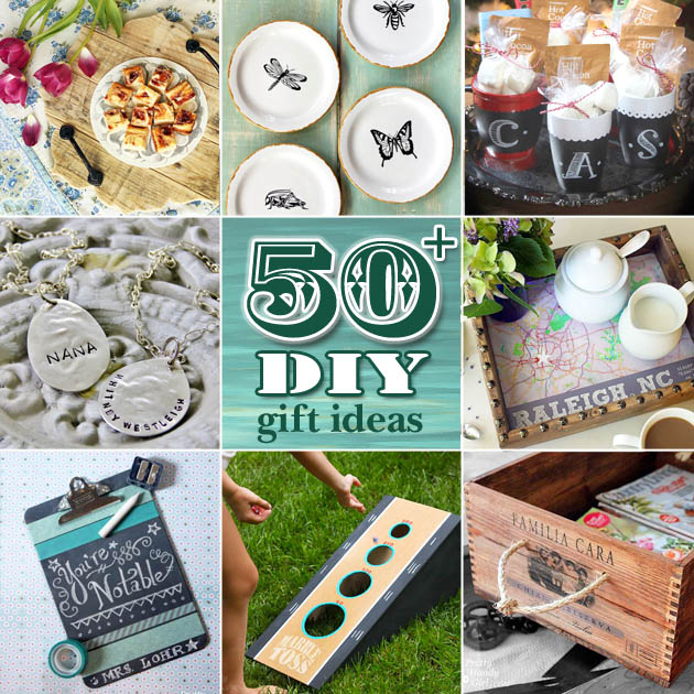 100+ DIY Gift Ideas plus Creative Gift Wrapping