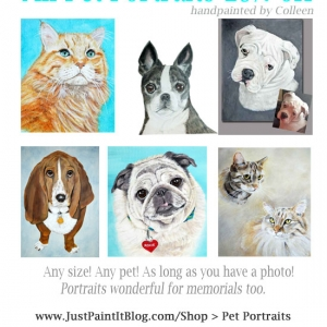 Pet Portraits on Sale!