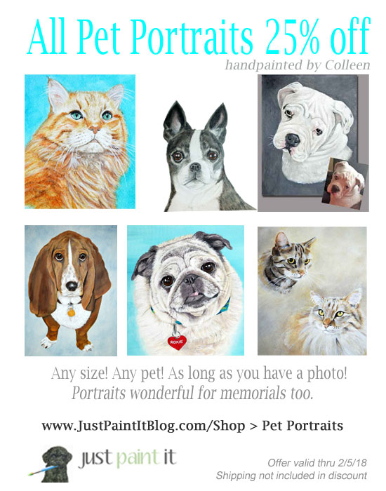Pet-Portrait-Sale