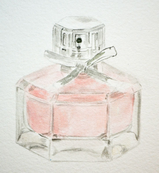 watercolor-perfume-bottle