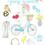 Spring Favorites Printable – FREE!