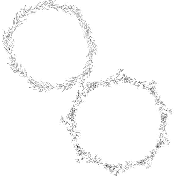 hand-drawn-wreaths