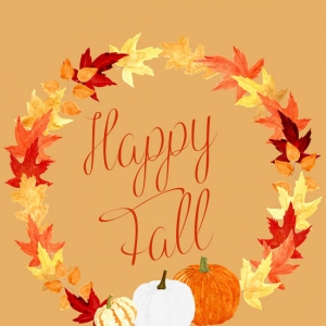 Free Fall Printable and New ClipArt