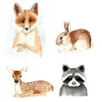 Watercolor Baby Animals