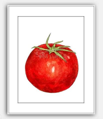 watercolor-tomato-painting