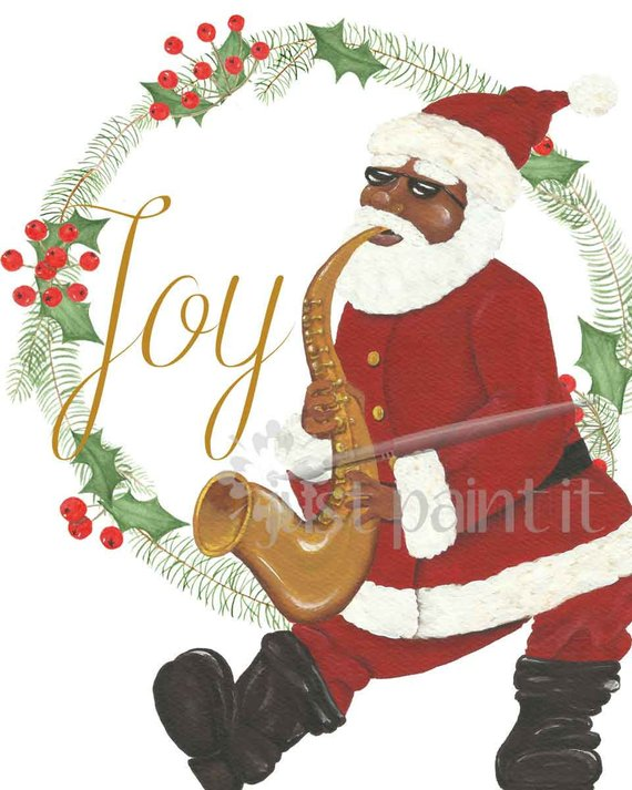 African-American-Santa