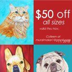 pet-portraits-sale