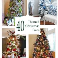 40 Beautiful Themed Christmas Trees
