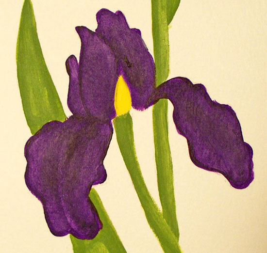 how-to-paint-iris