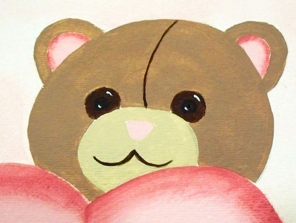 how-to-paint-teddy-bear